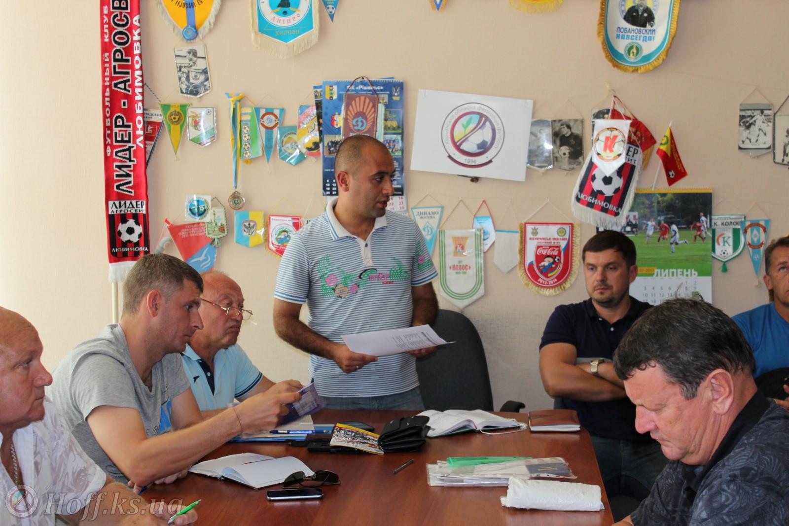 У зв'язку з початком Першості Херсонської області серед юнаків запрошуємо на нараду керівників шкільних футбольних команд!