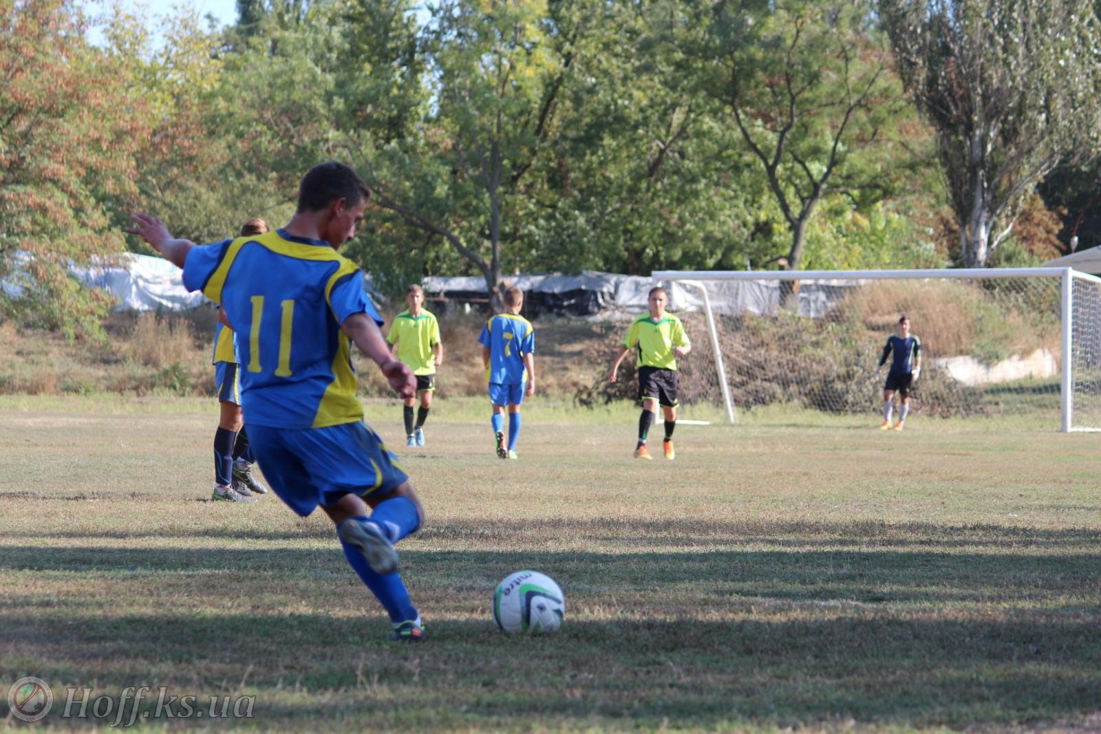 Відбулись  матчі першого туру дитячо-юнацької футбольної ліги Херсонської області.