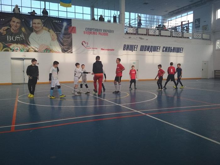 Відкритий чемпіонат м.Гола Пристань з футзалу сере юнацьких команд ( U-13 )