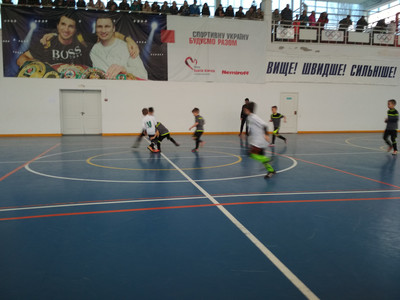 Відкритий чемпіонат м.Гола Пристань з футзалу (U-9)