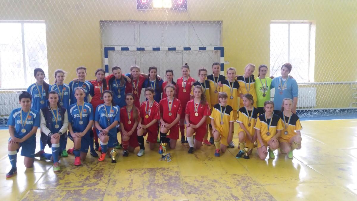 Чемпіонат Херсонської області з футзалу серед дівочих команд 2002 – 2003 р.н. ( WU – 16 )