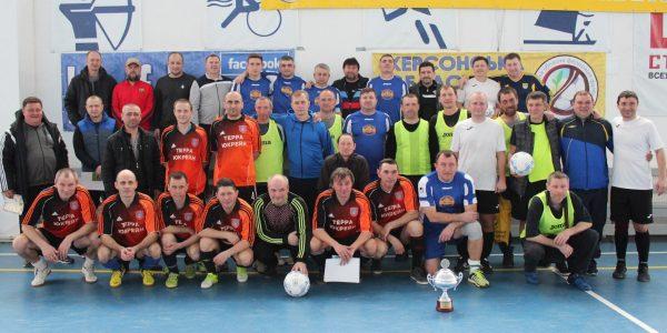 Турнір пам'яті тренерів та футболістів серед команд-ветеранів (40+) в м. Гола Пристань