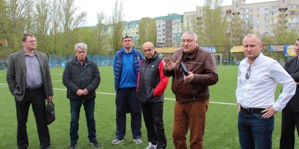 Нарада з дерикторами та тренерами футбольних шкіл щодо проведення футбольних заходів на 2018 рік