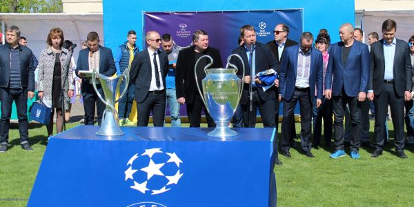 Кубки Ліги чемпіонів прибули до Берислава