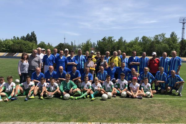 У Новій Каховці відбувся товариський футбольний матч, присвячений пам'яті  Вадима Рєзнікова