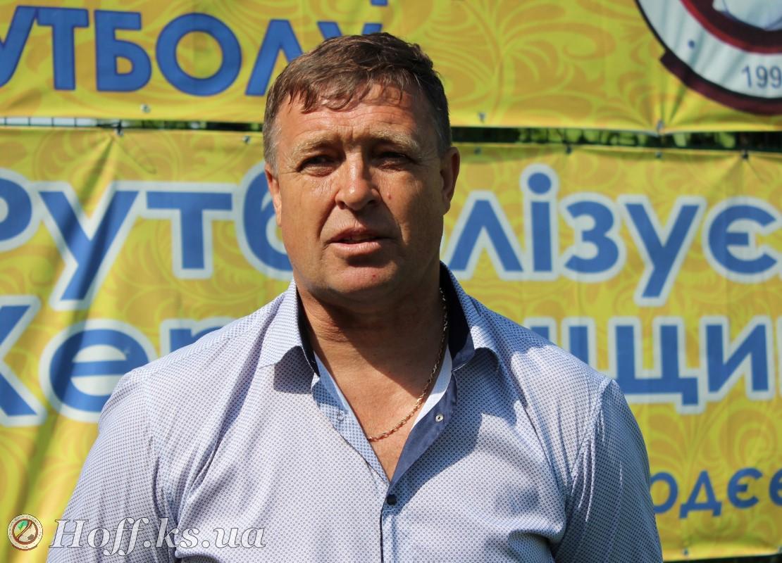 Голова Нижньосірогозької районної федерації футболу Сердюк Юрій Олександрович