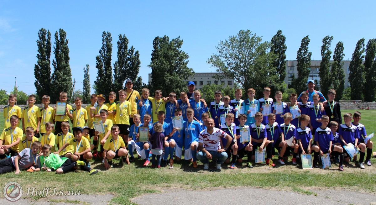 Результати  ігор фінальної частини Чемпіонату області серед команд юнаків 2006-2007 рр.н U-12 сезону 2017/18