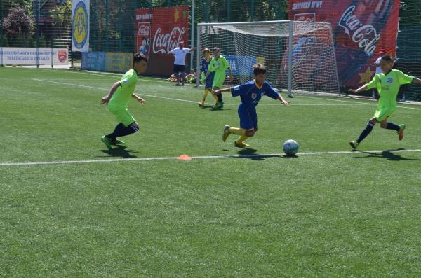 Учні ЗОШ № 24 міста Херсону зіграють у фіналі «Шкіряного м'яча – Кубку Coca-Cola» у віковій категорії U12