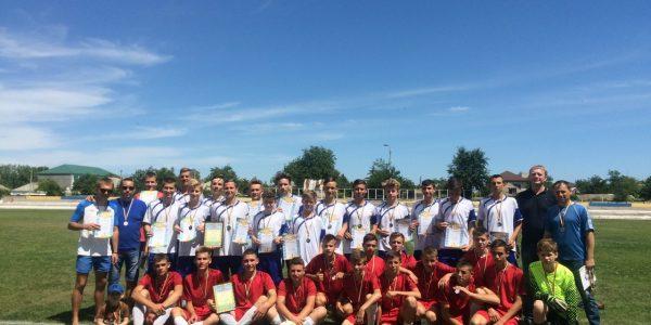 Першість Херсонської області серед команд юнаків. Відбулись заключні матчі.