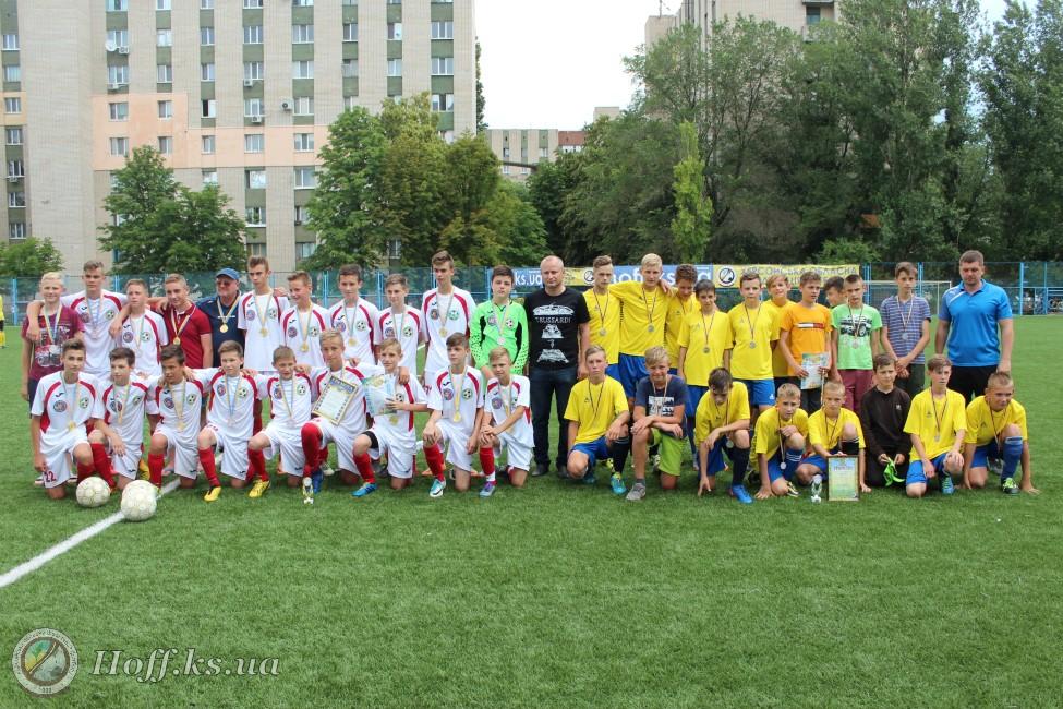 Чемпіонат Херсонської області серед команд юнаків 2004-2005 рр.н. U-14. Визначились призери змагань