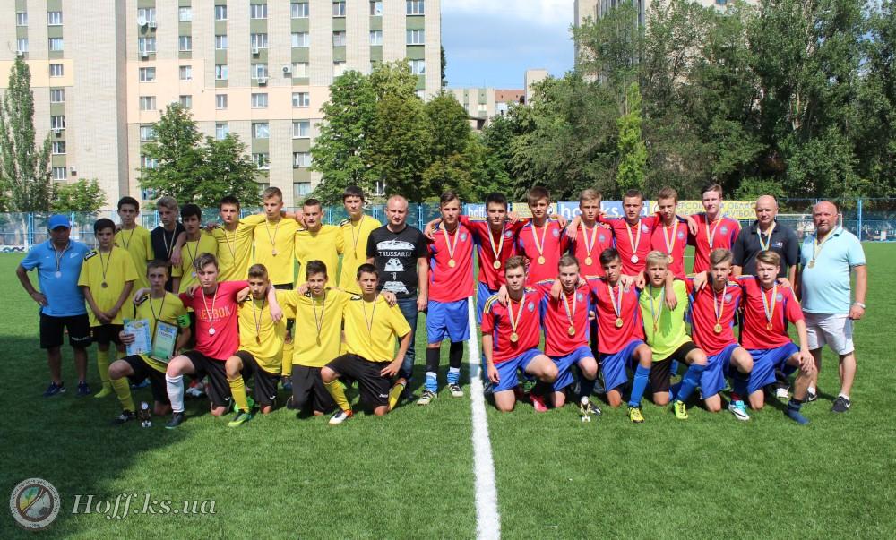 Чемпіонат Херсонської області серед команд юнаків 2002-2003 рр.н. U-16. Визначились призери змагань