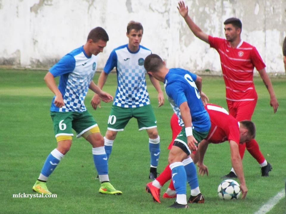 МФК Кристал у контрольному матчі переміг ФК Реал Фарма (Одеса)