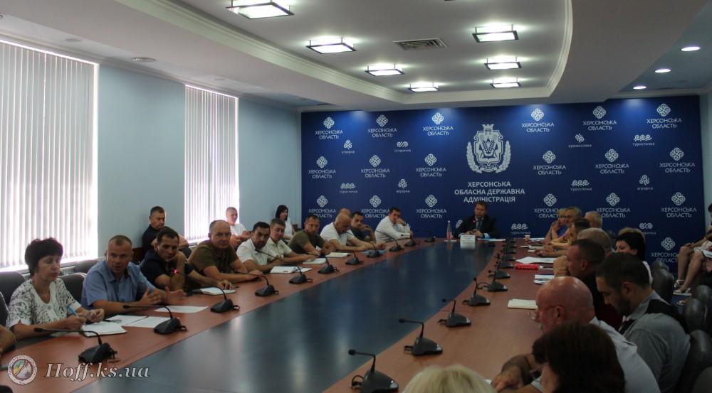 Андрій Гордєєв провів зустріч з учасниками АТО.