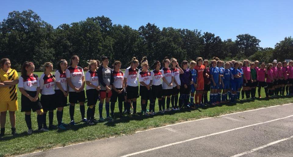 Збірна Херсонської області посіла друге місце у Першій лізі Чемпіонату України серед жінок U-16