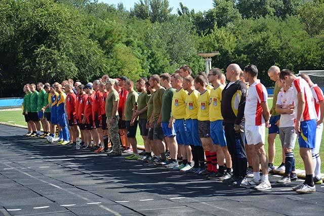 У Новій Каховці відбувся футбольний турнір за участі військових