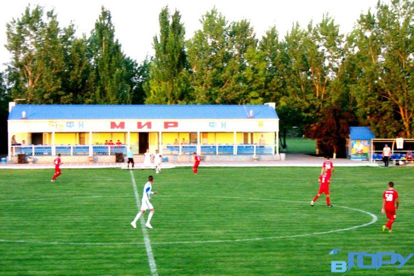 Матч в Горностаевке завершился дракой запорожских фанатов