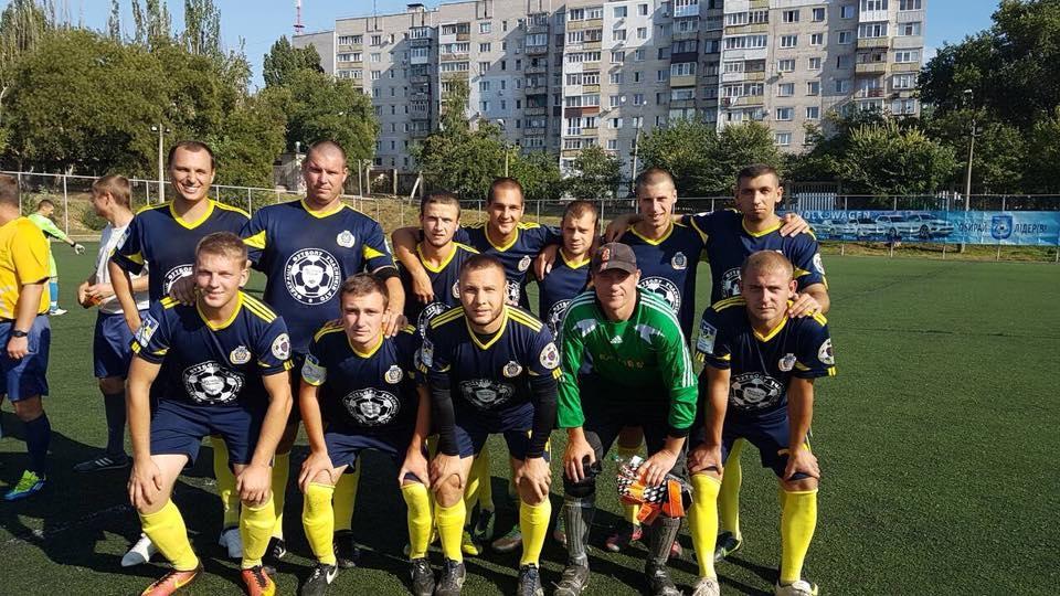 Херсонцы завоевали очередную победу в Лиге АТО по футболу