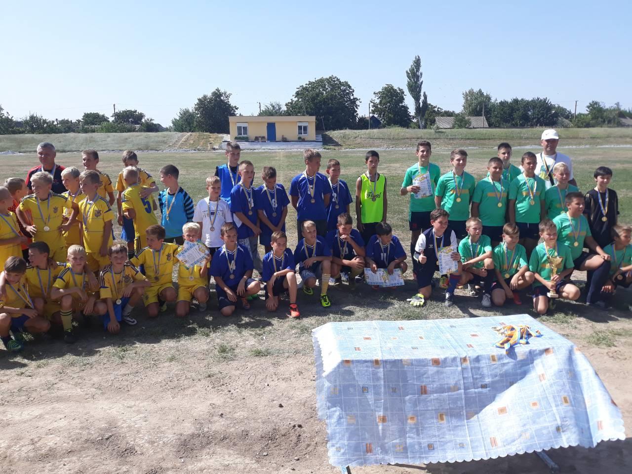 """Турнір з футболу """"Сірогозське літо-2018"""""""