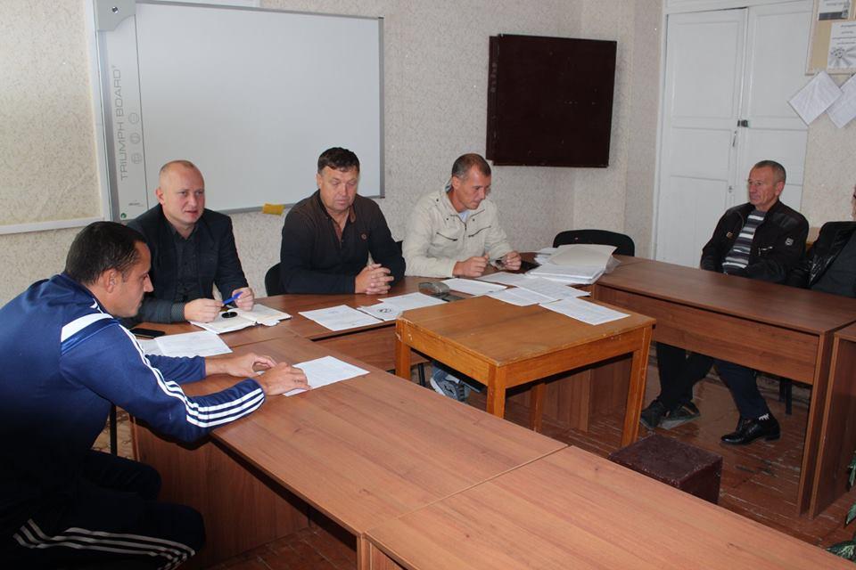 Відбулось зібрання з представниками команд першості області