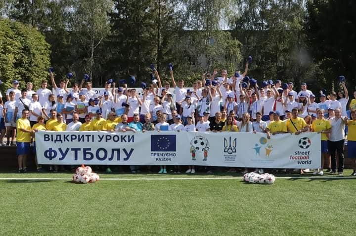 Міжнародний мережевий табір молодих лідерів проекту Open Fun Football Schools