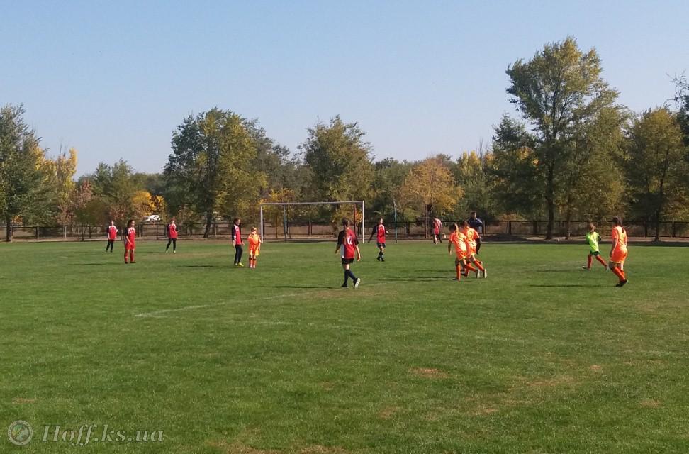 Чемпіонат Херсонської області з футболу серед дівочих команд U-13. Перший тур