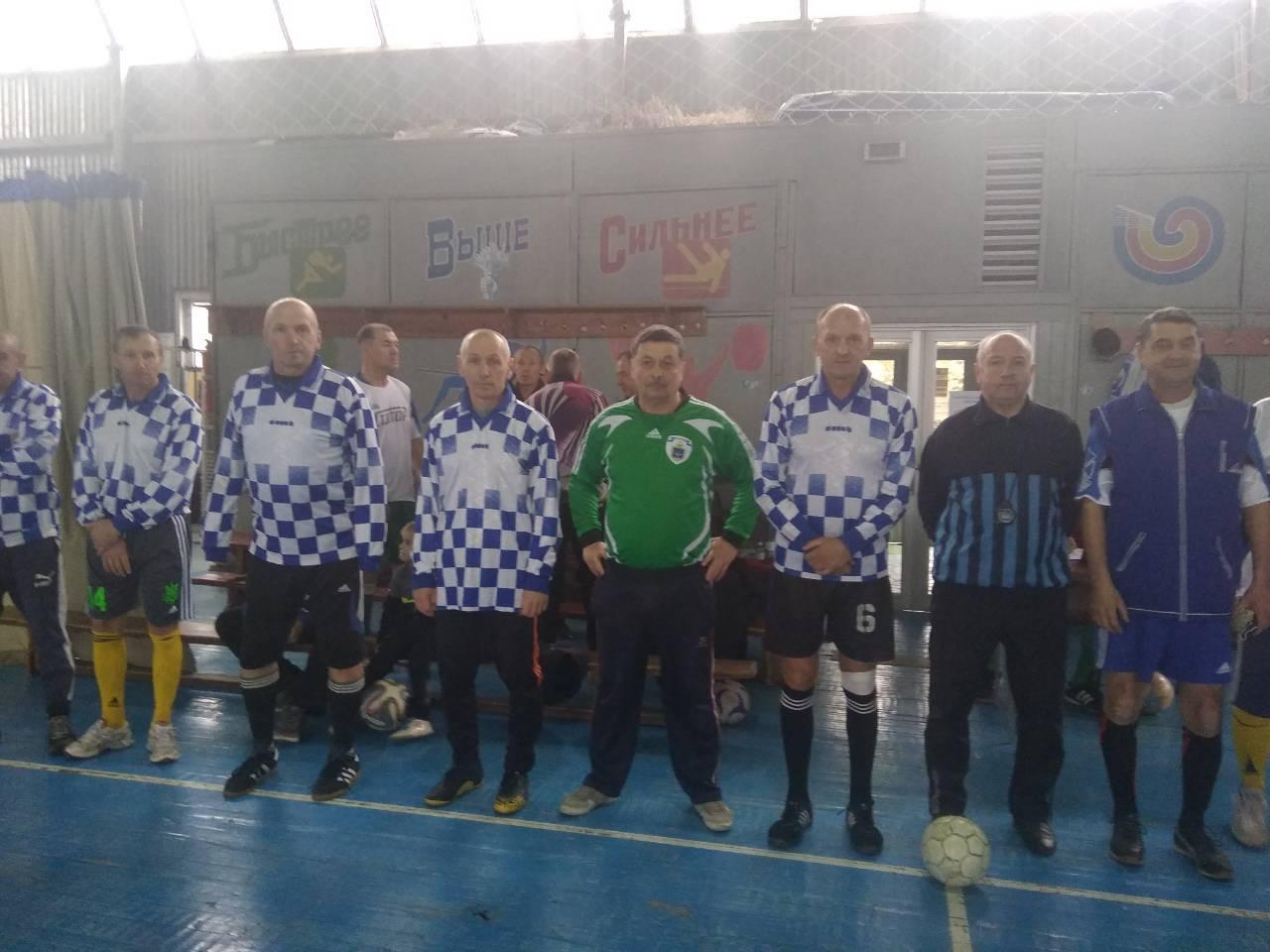 Каховські ветерани – срібні призери футзального турніру пам'яті М.М.Таран.