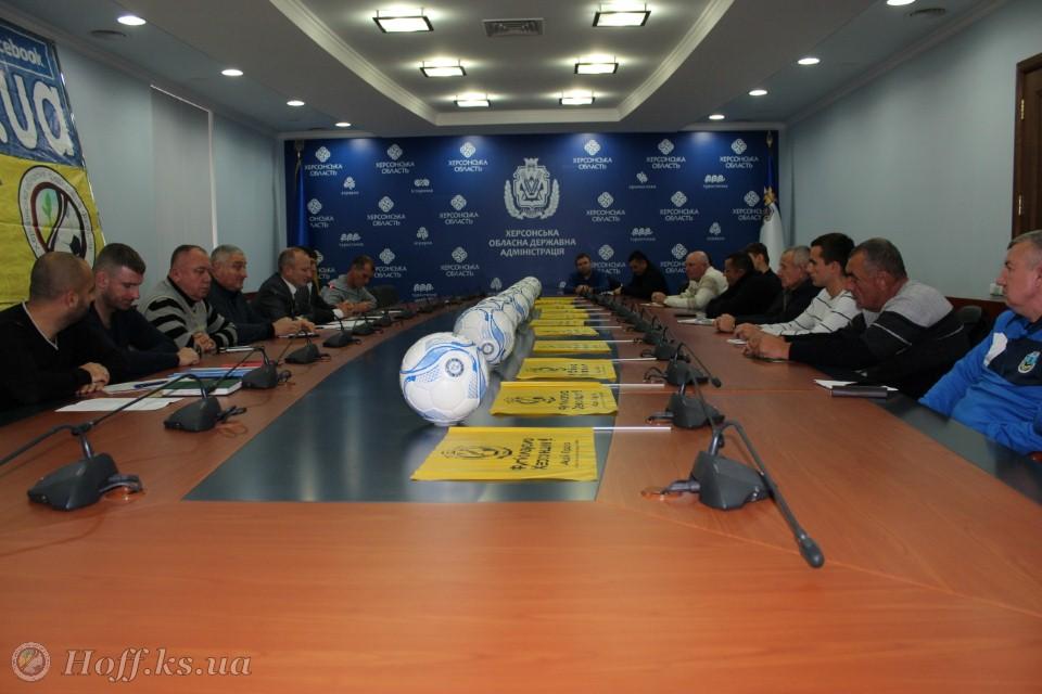 3 грудня відбулась зустріч з представниками команд Херсонської області