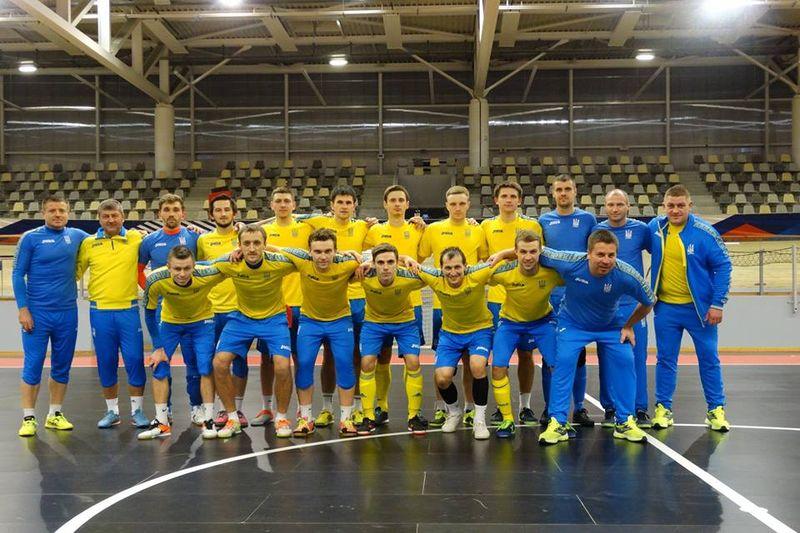 Збірна України з футзалу проведе в Чехії перші в цьому році матчі