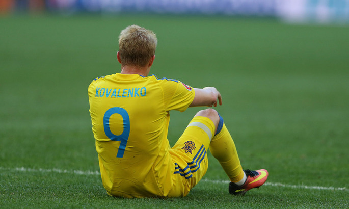 Коваленко прибыл в сборную с повреждением