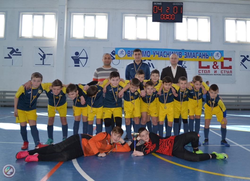 Фінальні ігри чемпіонату Херсонської області з футзалу серед команд юнаків 2007-2008 рр.н. U-12