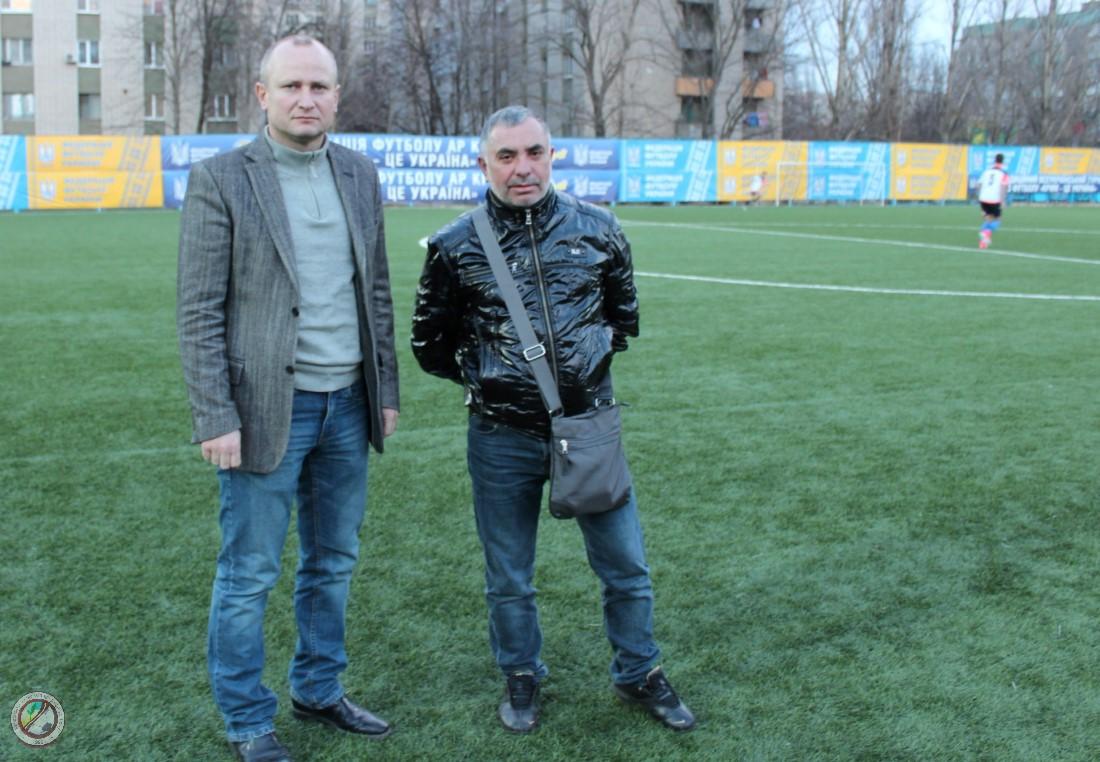 Підготовка до старту Відкритого Кубка федерації футболу АР Крим