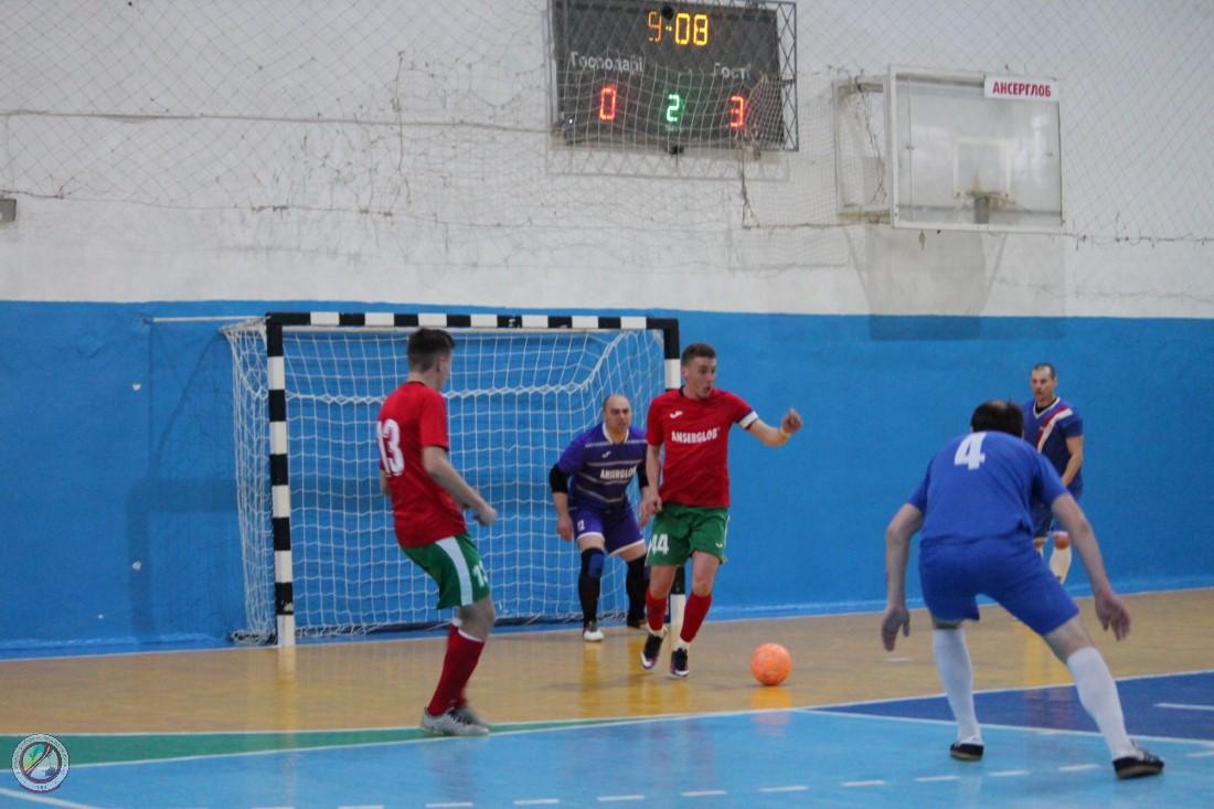 Відбувся перший груповий етап Чемпіонату Херсонської області з футзалу серед аматорських команд 2019 року