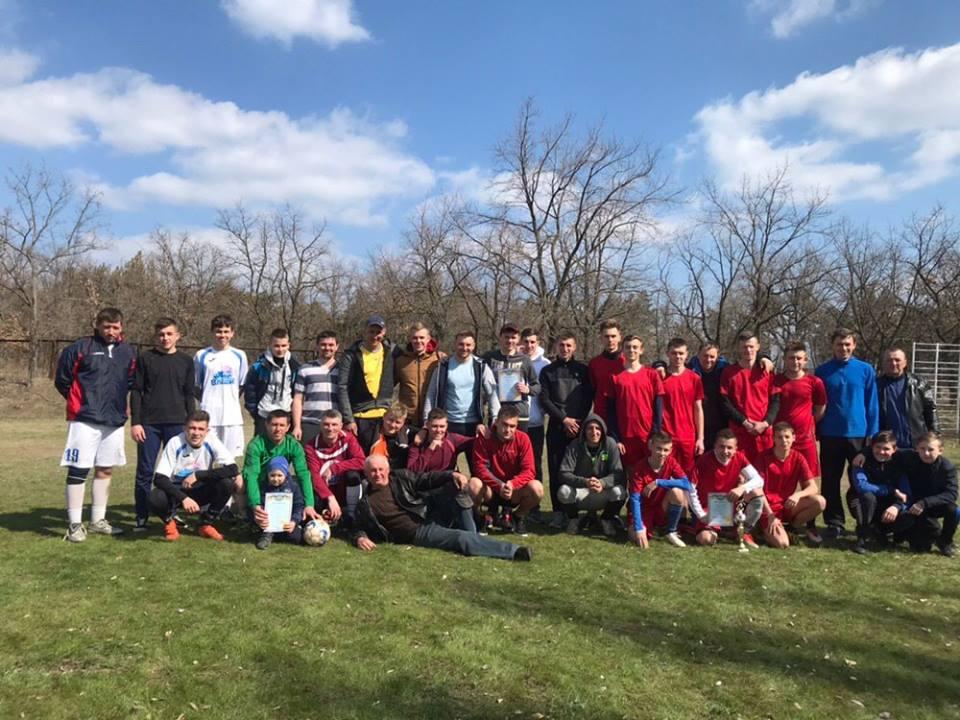 Чемпіонат Нововоронцовського району з міні-футболу.