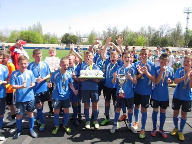 В Новій Каховці заврешився дитячий турнір з футболу пам'яті Юрія Чумакова