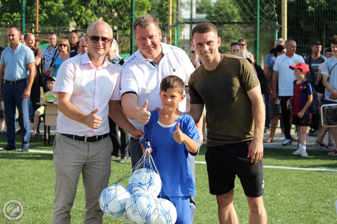 Олександр Караваєв провів майстер клас для юних футболістів Херсонщини. ВІДЕО
