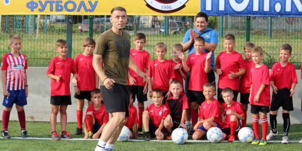 Олександр Караваєв провів майстер клас для юних футболістів Херсонщини