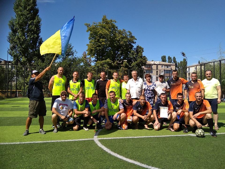 В Каховці відбувся Перший Відкритий турнір з міні-футболу, пам'яті Олега Ліфінцева.