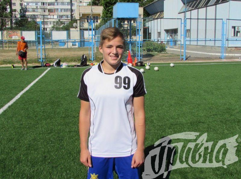 Херсонка – у збірній України з жіночого футболу
