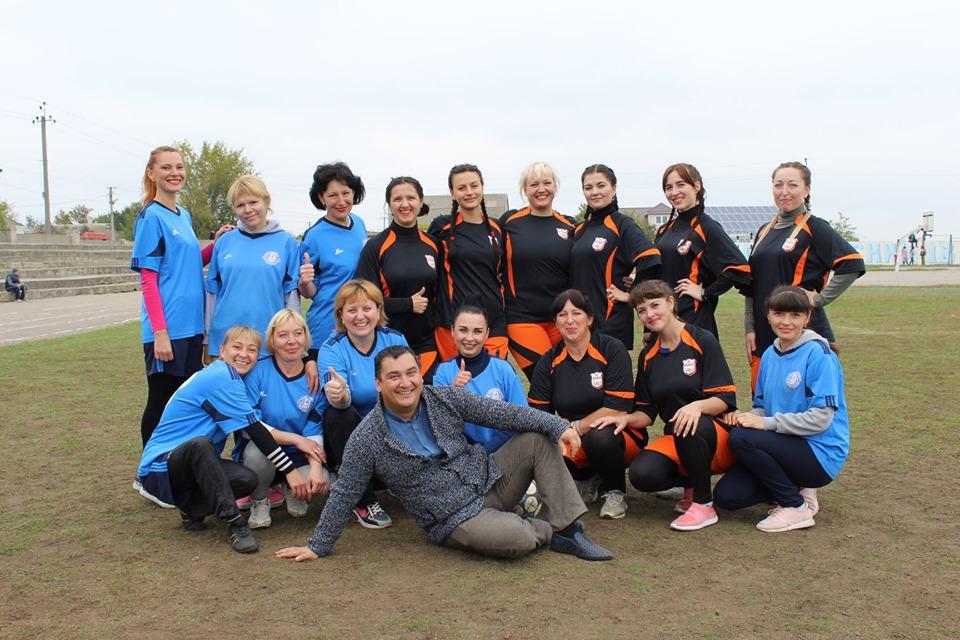 В Білозерці  вперше відбувся жіночий футбольний матч
