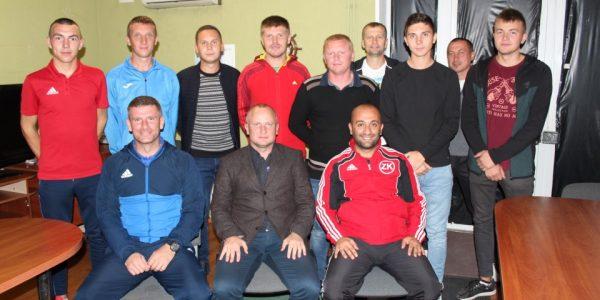 1 жовтня 2019 року, у приміщенні Херсонської обласної федерації футболу, відбулась нарада арбітрів ХОФФ