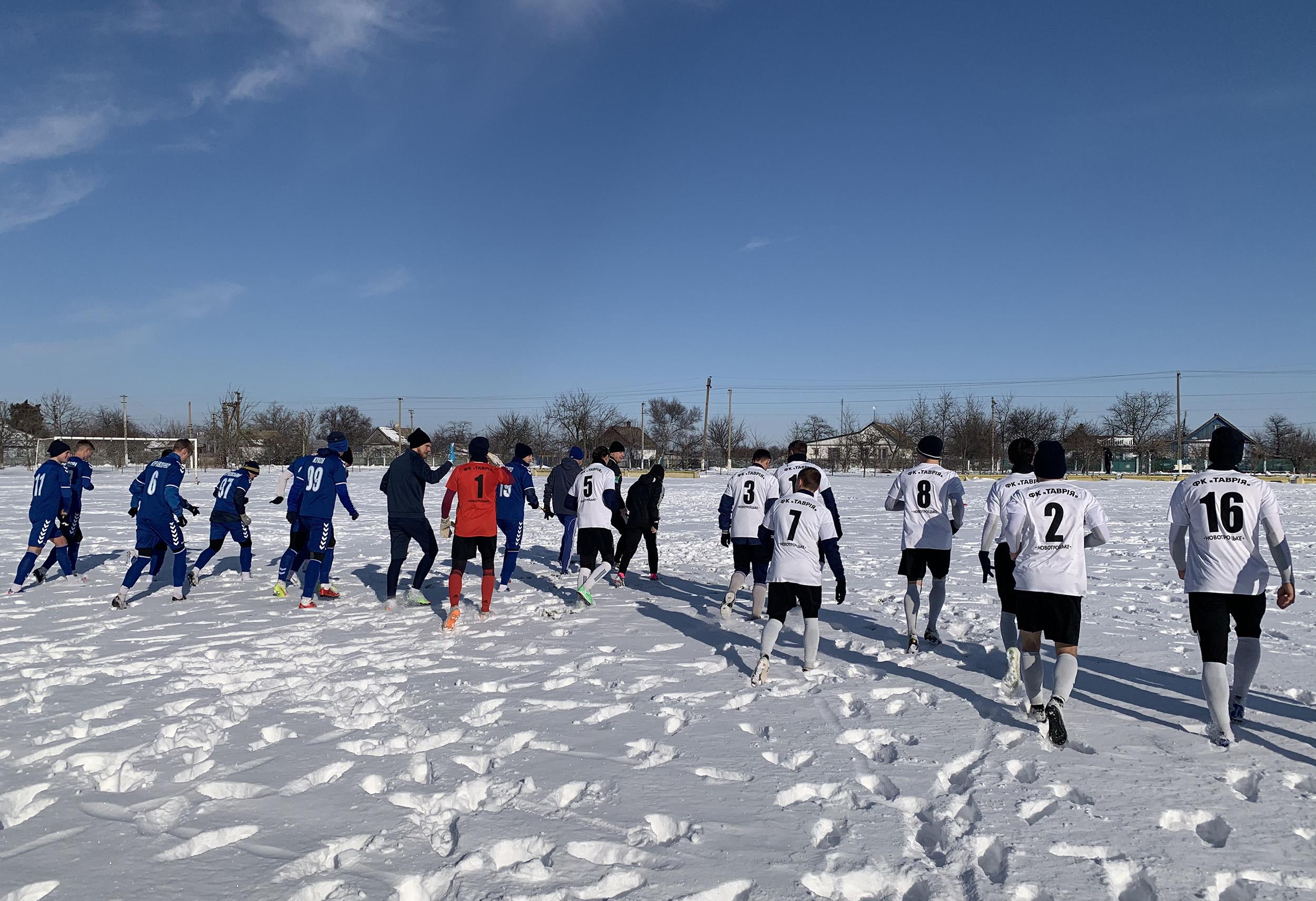 Сімферопольська Таврія зіграла перші контрольні матчі.