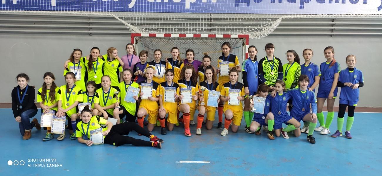 Чемпіонат Херсонської області з футзалу серед команд дівчат. WU – 17. Фінальний етап.