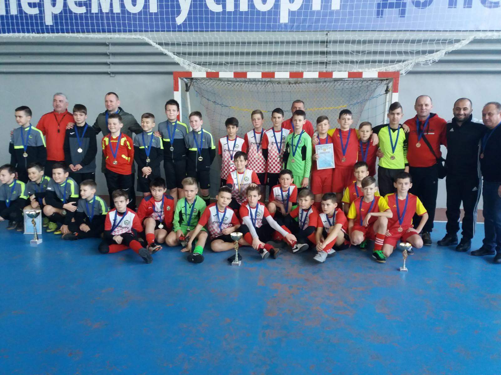 Чемпіонат Херсонської області з футзалу серед юнацьких команд U- 12. Фінальний етап