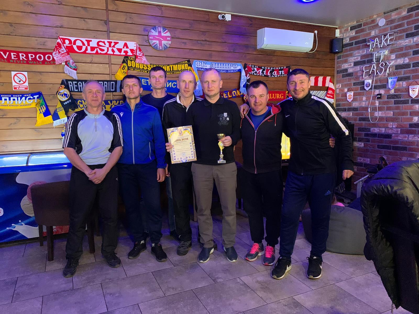 У Голій Пристані пройшов традиційний турнір з футзалу пам'яті тренерів та футболістів серед команд ветеранів 40+