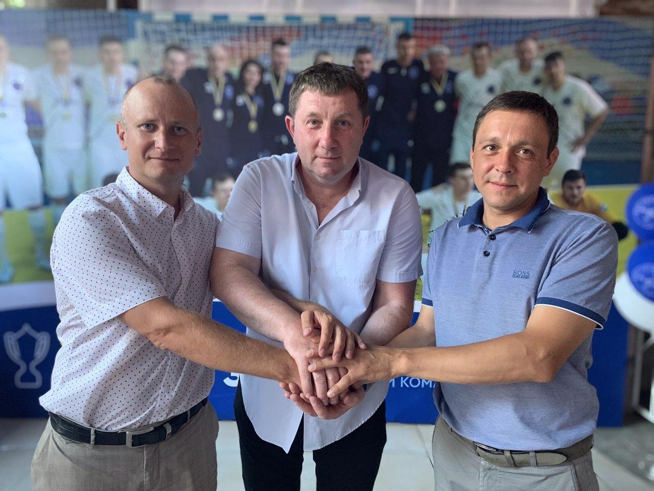 Херсонщина першою підписала тристоронній договір про розвиток футзалу в регіоні