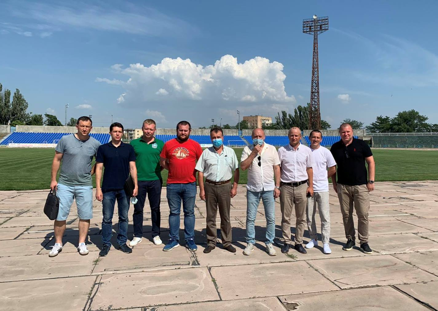 7 липня відбулась інспекція стадіону «Кристал»