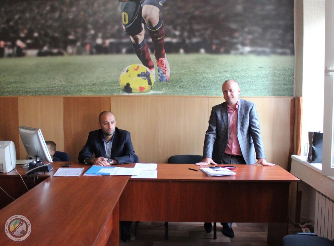 23 вересня відбулась нарада дитячо-юнацьких футбольних команд Херсонської області