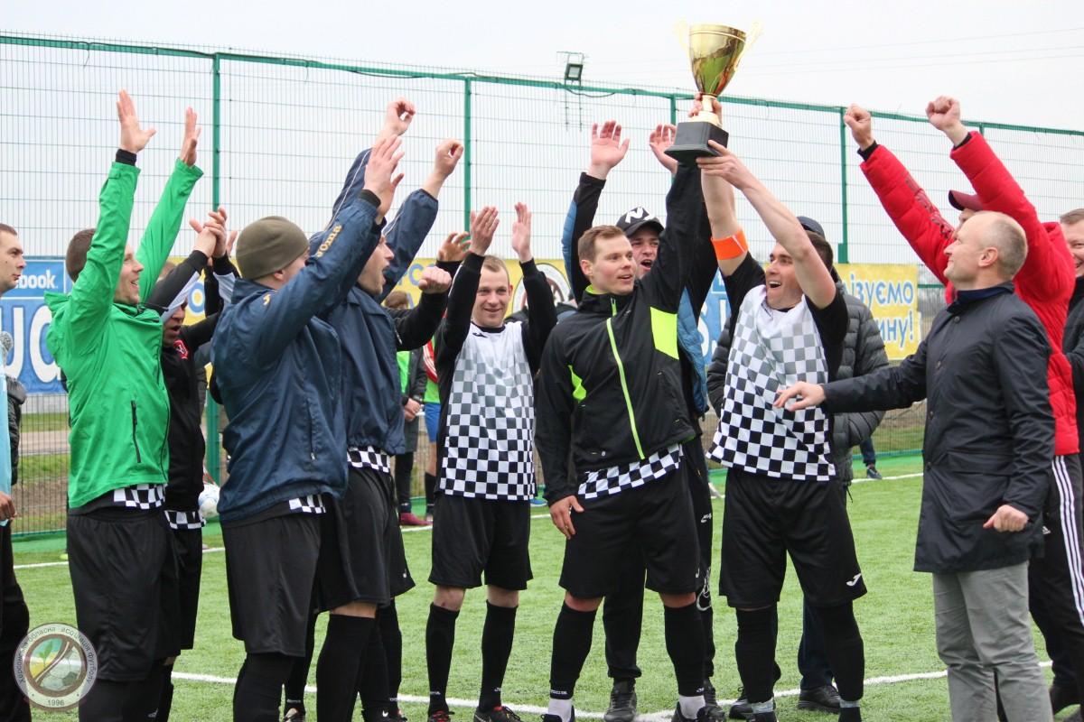 Футбольний турнір у с. Тополине. Нагородження переможців