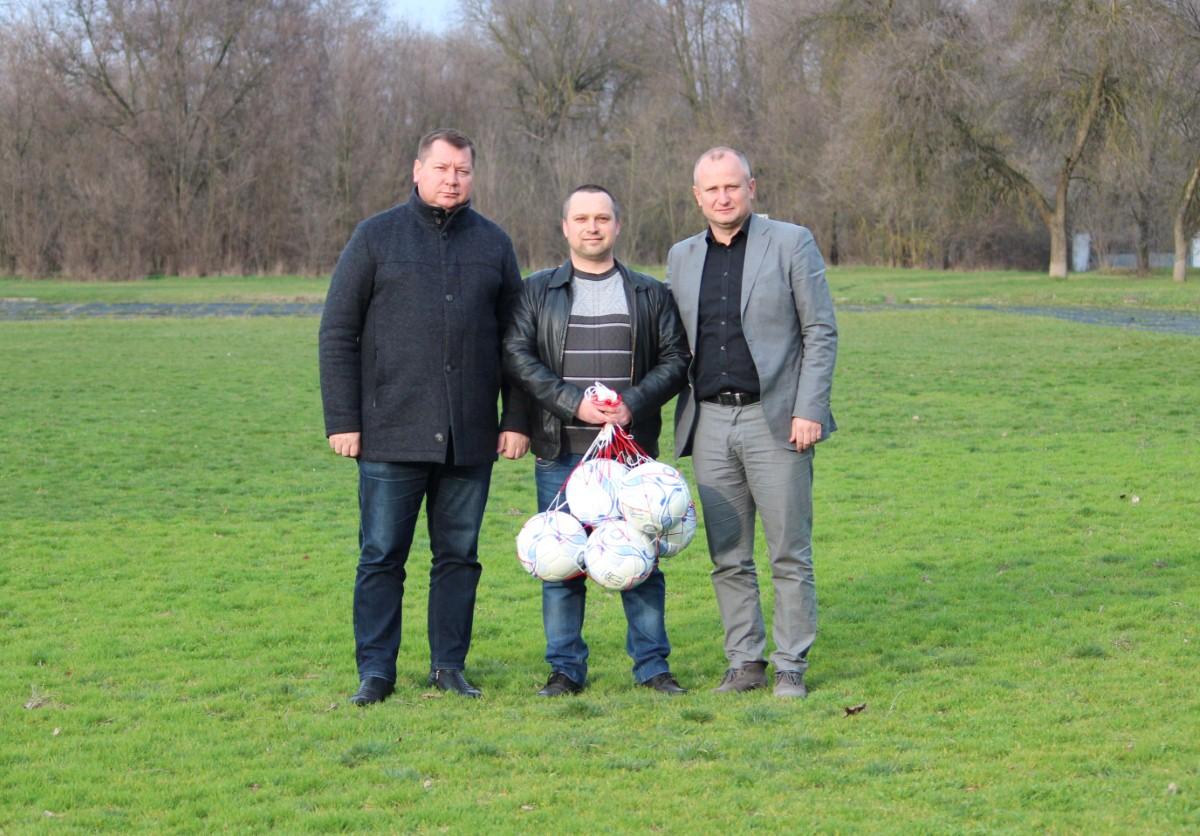 Андрій Гордєєв відвідав Великоолександрівську районну федерацію футболу