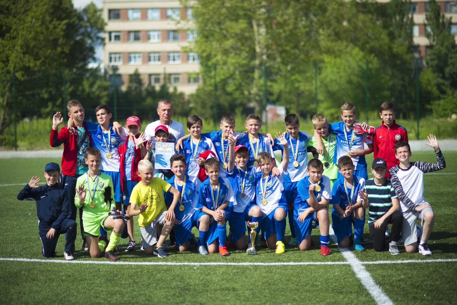 Завершилися змагання чемпіонату Херсонської області з футболу серед дитячо-юнацьких команд 2009 року народження U-12